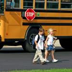 kids crossing street
