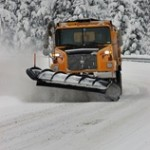 Sharing the Road with Snow Plows